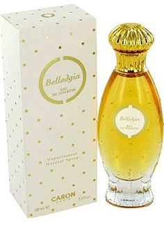 Bellodgia by Caron is a warm, spicy, powdery, woody Floriental fragrance with carnation and rose in the top. Jasmine, lily-of-the-valley and violet in the middle. Musk, clove, vanilla and sandalwood in the base. - Fragrantica