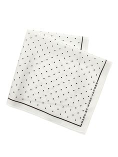 hearts & dots handkerchief // marc by marc jacobs