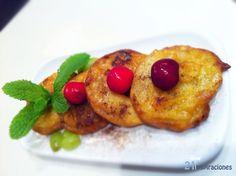 Rosquillas de Manzanas #recetavegana