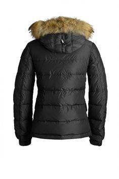 parajumpers shearling coat