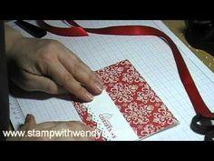 20 Days of Handmade Christmas Cards -Day 2