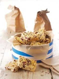 BREAKFAST BARS | Recipes | Nigella Lawson - these are amazing! Currently munching at my desk...