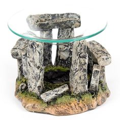 Mystical Stonehenge Design Oil Burner with Glass Dish Our range of oil burners covers a huge selection of designs and colours and, whether you are Stonehenge, Fragrance Oil Burner, Candle Scent Oil, Burner Covers, Wax Burner, Thing 1, Oil Burners, Gifts For Office, Glass Dishes