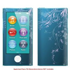 Decalrus Protective Decal Skin Sticker for Apple Ipod Nano 7G 7th Generation (IMPORTANT: to get correct skin for your device view IDENTIFY image) case cover IPnano7-621