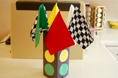 To do with my son: Make a streetlight craft or decoration for his bedroom (could be a cool lamp base, too!)