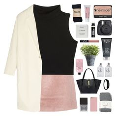 """""""FEELS GOOD"""" by elainesabine ❤ liked on Polyvore featuring Acne Studios, Falke, Calvin Klein, Crate and Barrel, Henri Bendel, Fuji, H2O+, Bare Escentuals, Donna Karan and philosophy"""