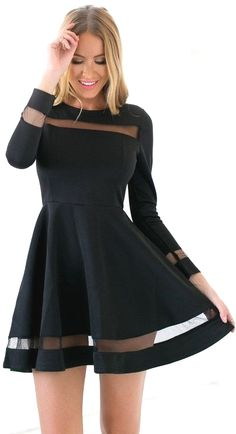 Short Homecoming Dresses A-Line Half Slleves Lace Party Dresses Black Homecoming Dress,Short Party Dress,Long Sleeves Tulle Formal Dress,Short Prom Dress Beautiful Casual Dresses, Trendy Dresses, Sexy Dresses, Cute Dresses, Party Dresses, Dress Outfits, Evening Dresses, Fashion Outfits, Dress Casual