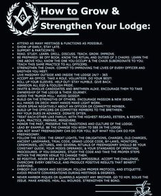 How to grow and strengthen your Lodge