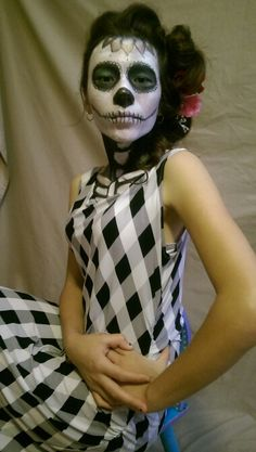 Day of the Dead photo shoot. Reyna.2015.