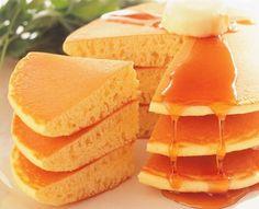 北海道ホットケーキ 9食入 メープル・ホイップソフト付北海道産の小麦粉/牛乳100%使用【