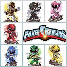 I totally fancy this color selection for this car Power Ranger Party, Power Ranger Birthday, Go Go Power Rangers, Chibi, Avengers Cartoon, Green Ranger, Nerd Art, Mighty Morphin Power Rangers, Superhero Party