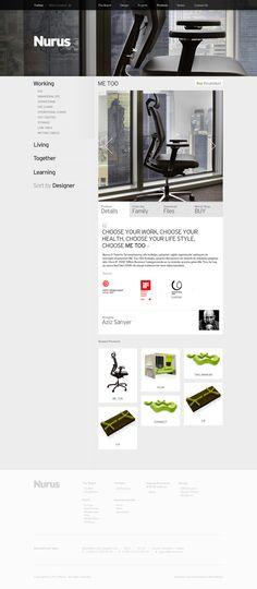 Metin Saray – Nurus, via Behance Ux Design, Graphic Design, Choose Your Life, Interface Design, Web Design Inspiration, Typography, Layout, Website, Creative