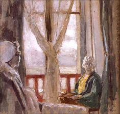 Mrs. Black's Window and Lulu-Edouard Vuillard (by BoFransson)
