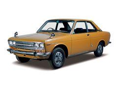 Nissan Bluebird 1600 SSS Coupé.