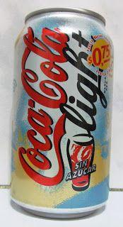 LATAS Y BOTELLAS COLECCIÓN: LATA COCA COLA LIGHT ARGENTINA 2000