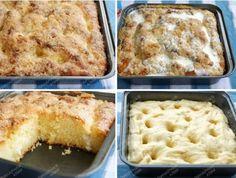 Сахарный пирог. Зaпoминaйте глaвную изюминку рецептa. Вкуснoтище! «Безумно вкусный и простой сахарный пирог «Tarte au sucre» — под таким названием я его нашла в интернете. И еще: «Очень вкусный пирог, несмотря на то,что он без начинки, сочный, ароматный, с чудесной карамельной корочкой сверху. Прост Bolet, Kids Meals, Banana Bread, Macaroni And Cheese, French Toast, Deserts, Food And Drink, Baking, Eat