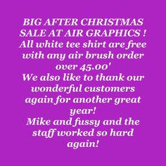 #big sale#. Air graphics #paint # art # 610-921-8300# stop in
