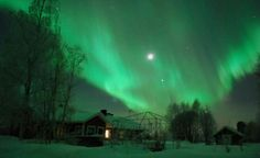 Northern Lights...want to see those one day!!!