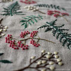 summer leaf / YUMIKO HIGUCHI | Embroidery Artist