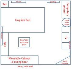 Feng Shui Bedroom Layout Bed feng shui bedroom layout love | design ideas 2017-2018 | pinterest