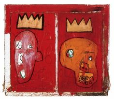 Fancy - Red Kings, 1981 By Jean Michel Basquiat