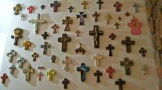 Mi pared de cruces