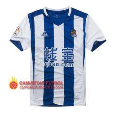 Primera camiseta Tailandia del Real Sociedad 2016 2017 89042a19ad81b