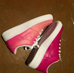 reputable site ba924 a28e7 Custom Color Changing Nike Air Force Ones