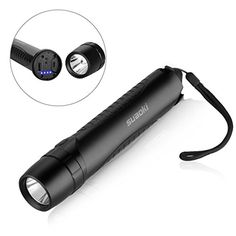 Suaoki Power Bank 5200mAh LED Torch Flashlight Rechargeable and Waterproof, Glass Hammer and Belt Cutter, with Micro USB Cable: Amazon.co.uk: Garden & Outdoors