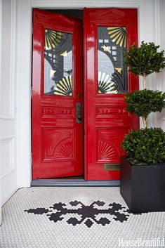 Front door colors an
