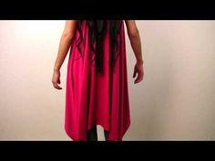 video tutorial - non-fray fabric