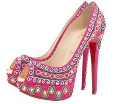 Christian Louboutin's take on India seen in S/S 2012 collection
