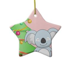 Koala Christmas Christmas Ornaments