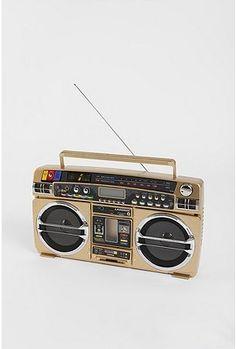 Lasonic Gold iPod Boombox