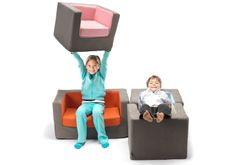 Strong and sturdy to handle a kids lifestyle-Monte Design Cubino Chairs in an array of colors - makes a great gift for kids! #ecofriendlykidschairs #modernkidschairs #nontoxickidschairs #fireretardantfreekidschairs