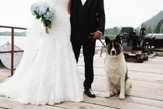 This Pup!   Rustic Chic Nautical Infused Port Edward British Columbia Coastal Wedding   Photograph by Stefania Bowler Photography  http://www.storyboardwedding.com/romantic-nautical-port-edward-british-columbia-wedding-north-pacific-cannery/