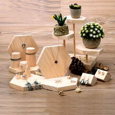 Pointed Jewelry Display Holder Wood Ring Holder Wood Bracelets Holder Pendant Necklace Earrings Holder Jewellery Display Stand -in Jewelry Packaging & Display from Jewelry & Accessories on Aliexpress.com | Alibaba Group