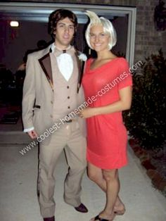 Homemade Mary and Ted Costume from Theres Something About Mary... This website is the Pinterest of costumes