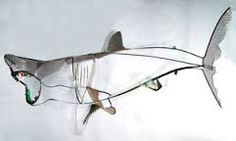 Image result for kinetic mobile fish sculpture