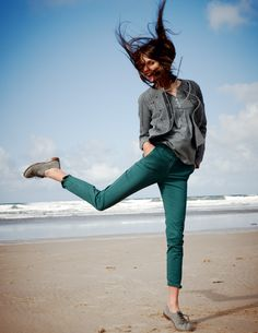 Brogues on the beach