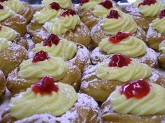YourAbruzzo • Zeppole di San Giuseppe- Typical pastry dessert to celebrate Father's day in Italy.