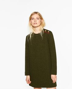 ZARA - WOMAN - MILITARY-STYLE DRESS