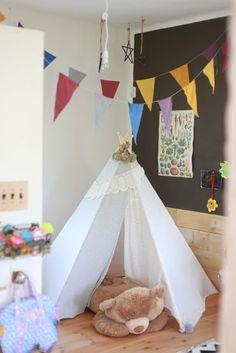 平屋&ナチュラル Baby Decor, Baby Room, Toddler Bed, Home Decor, Child Bed, Decoration Home, Baby Deco, Room Decor, Nursery