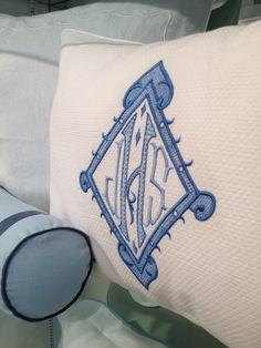 In Detail | Leontine Linens Embroidered Monogram