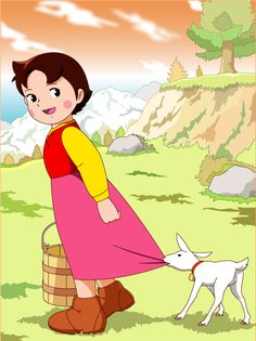 Heidi With yuki http://heidicartoon.blogspot.in