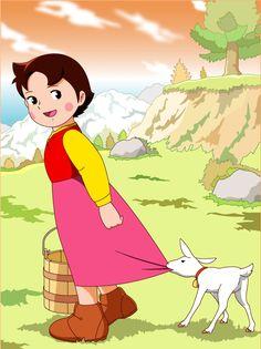 Heidi With yuki http://heidicartoon.blogspot.in