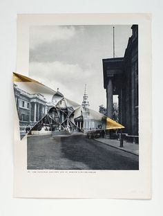 """abigail reynolds - """"universal now: national gallery 1950 / 1912"""", collage (2010)."""