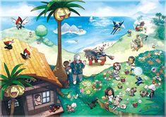 温暖な島々からなるアローラ地方を紹介! 『ポケットモンスター サン・ムーン』公式サイト