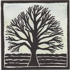 This Lino print shows death as well as the feeling of coldness. the work is called winter. Linoprint, Types Of Printing, Cool Art, Awesome Art, Simple Designs, Printmaking, Paper Art, Print Design, Lino Cuts