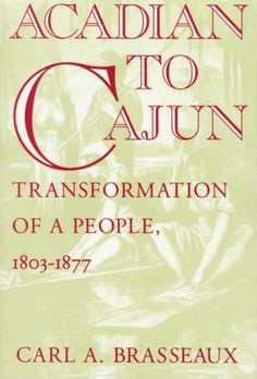 This book is the first to examine comprehensively the demographic growth, cultural evolution, and political involvement of Louisiana's large Acadian community between the time of the Louisiana Purchas